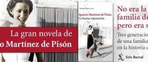 Última novela de Martínez Pisón